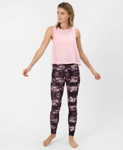Summer Crop Top, Liberated Pink | Sweaty Betty