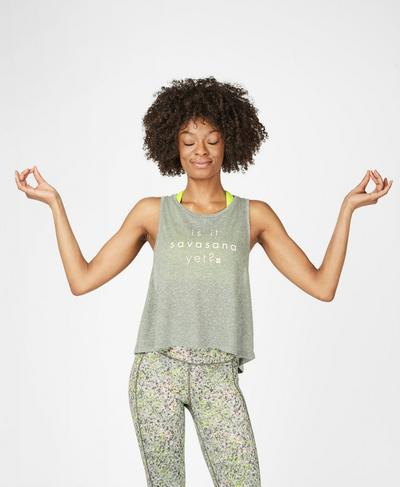 Swing Workout Tank, Sage Green | Sweaty Betty