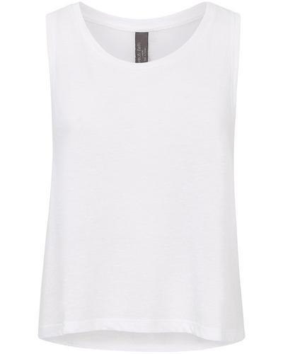 Swing Gym Vest, White | Sweaty Betty