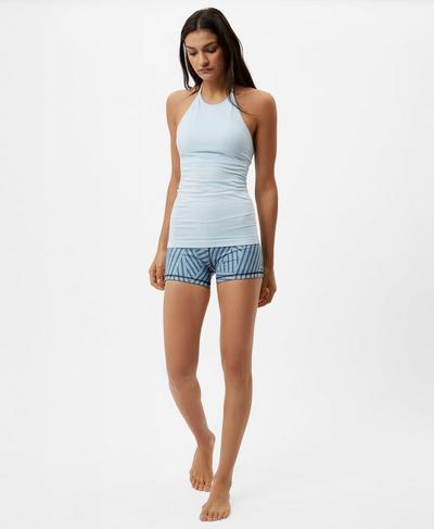 Dandasana Yoga Vest, Baby Blue | Sweaty Betty
