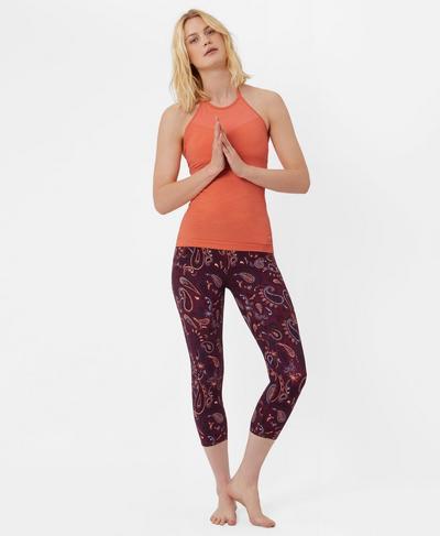 Dandasana Yoga Tank, MELON | Sweaty Betty