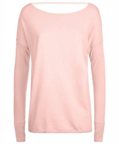 Simhasana Sport Sweatshirt, Liberated Pink | Sweaty Betty