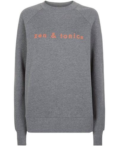 Brixton Sweatshirt, Charcoal Grey | Sweaty Betty