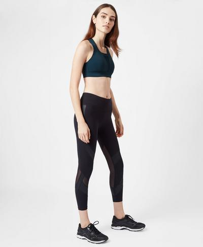 All Train Bra, Beetle Blue | Sweaty Betty