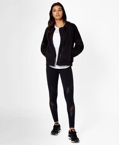 Team Player Jacket, Black | Sweaty Betty