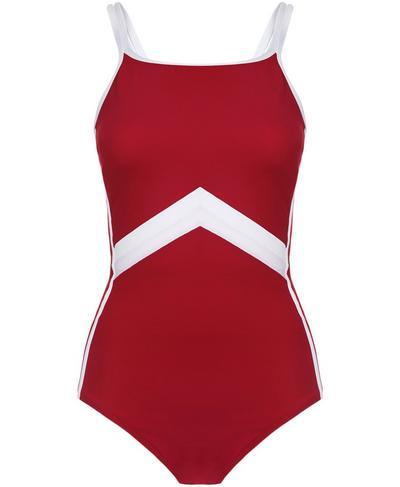 Butterfly Swimsuit, Retro Red | Sweaty Betty