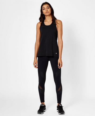 Compound Vest, Black | Sweaty Betty