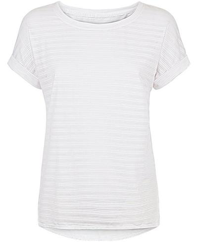 Ab Crunch Tee, White | Sweaty Betty