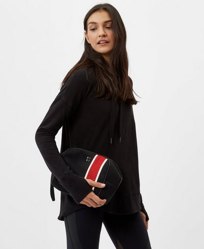 Wash Bag, Black | Sweaty Betty