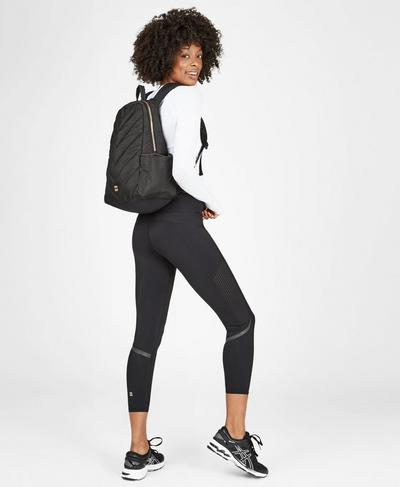 Icon Running Backpack, Black | Sweaty Betty