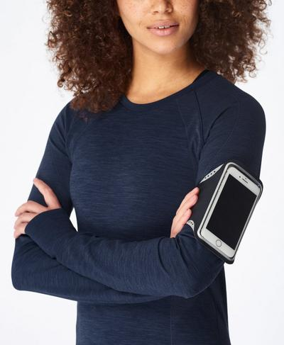 Media Armband, Black   Sweaty Betty