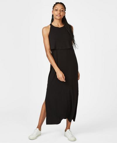 Holistic Dress, Black | Sweaty Betty