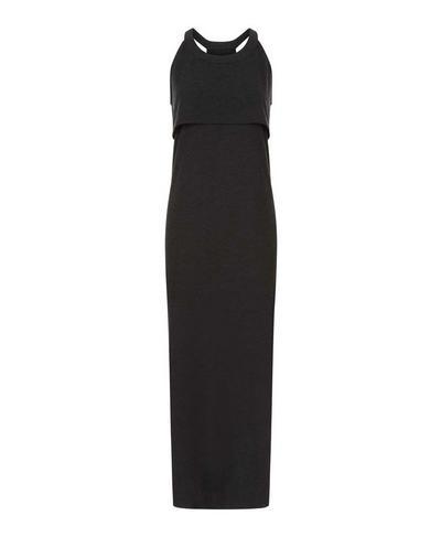 Holistic Dress, Black Marl | Sweaty Betty