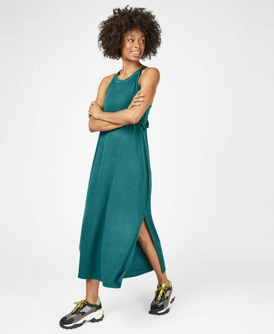 Holistic Dress, June Bug Green | Sweaty Betty