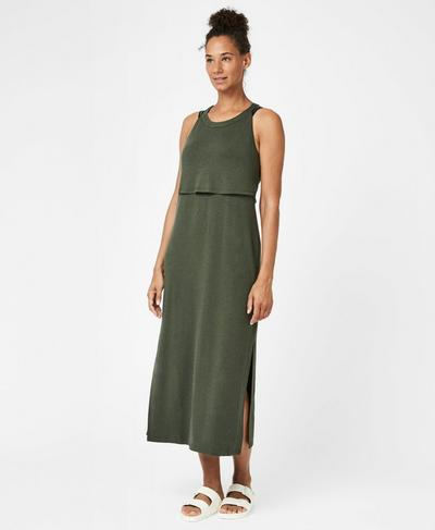 Holistic Dress, Olive | Sweaty Betty