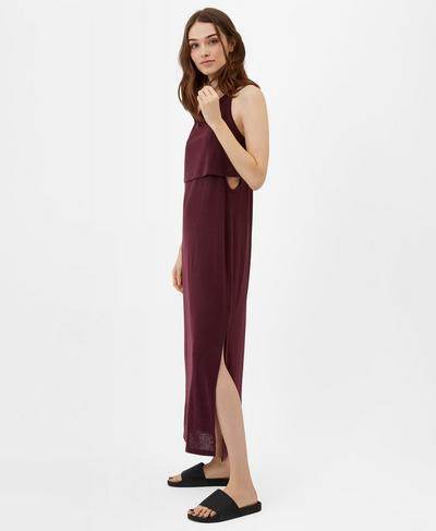 Holistic Dress, Oxblood | Sweaty Betty