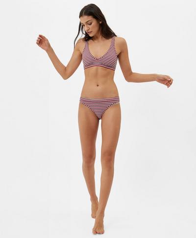 Retro Reversible Bikini Bottoms, Multi Stripe | Sweaty Betty