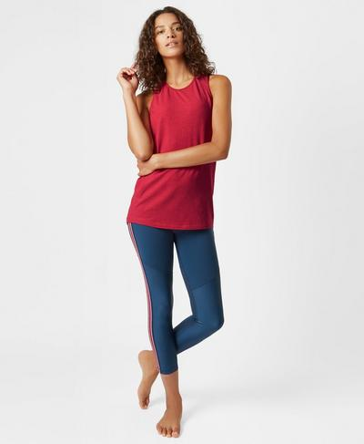 Extreme Racer Back Seamless Tank, Retro Red | Sweaty Betty