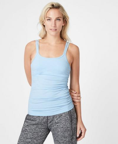 Namaska Yoga Tank, Infinity Blue | Sweaty Betty