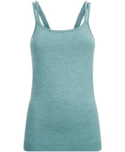 Namaska Yoga Tank, Smoke Green | Sweaty Betty