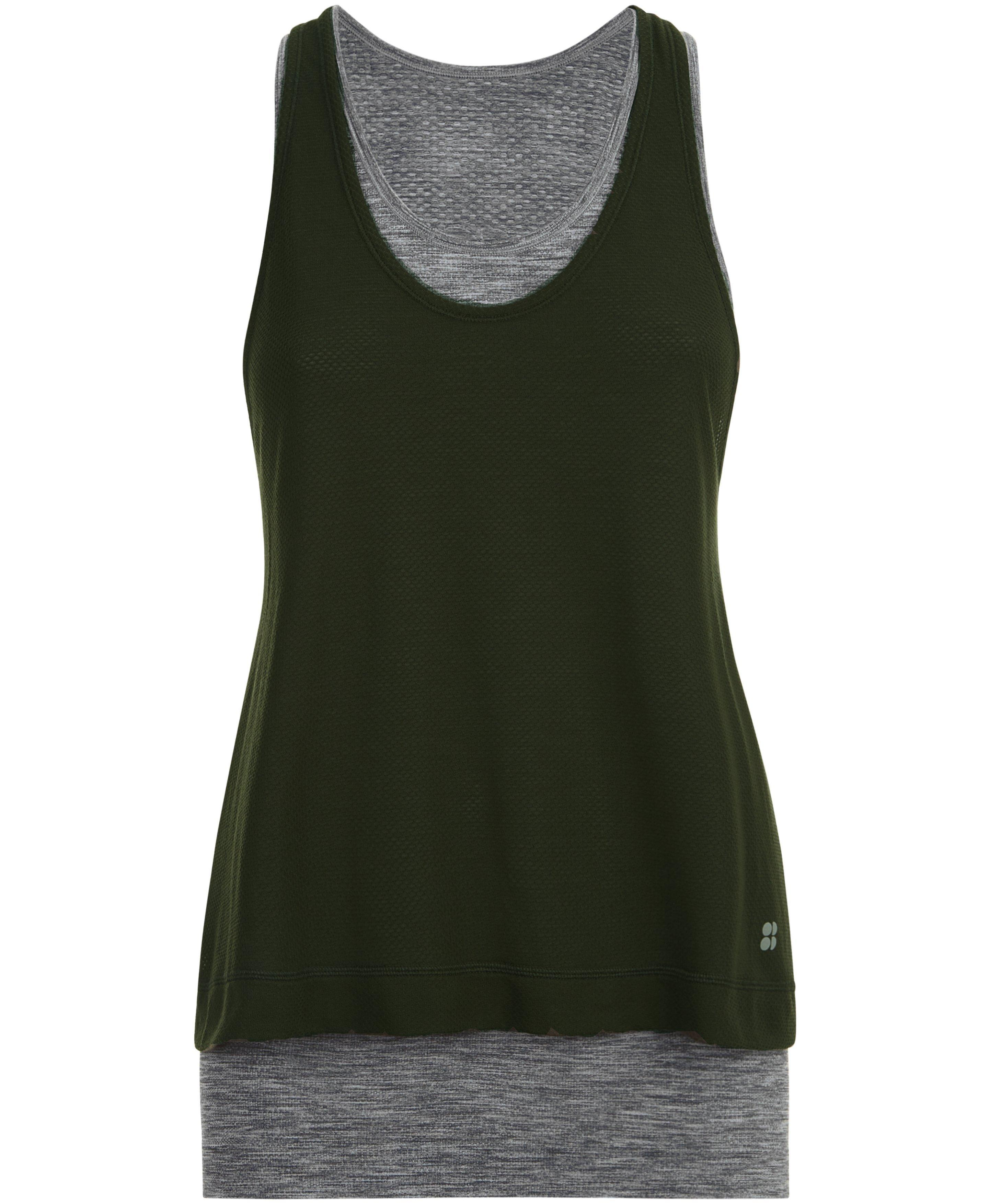 seamless double time vest
