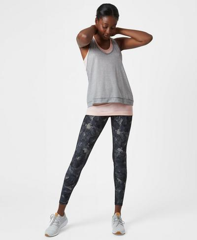 Seamless Double Time Tank, Liberated Pink | Sweaty Betty
