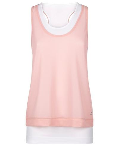 Seamless Double Time Tank, White | Sweaty Betty