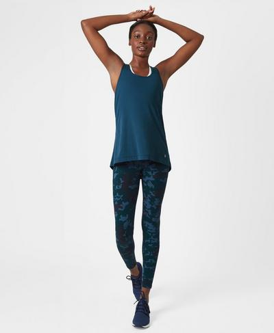 Zero Gravity Run Leggings, Bull Dog Camo | Sweaty Betty