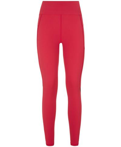 Zero Gravity Pocket Run Leggings, Retro Red | Sweaty Betty