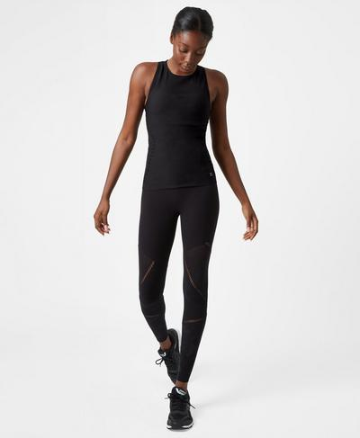 Urban Seamless Leggings, Black Camo Pigeon | Sweaty Betty