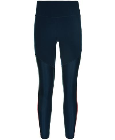 Power Mesh 7/8 Leggings, Beetle Blue | Sweaty Betty