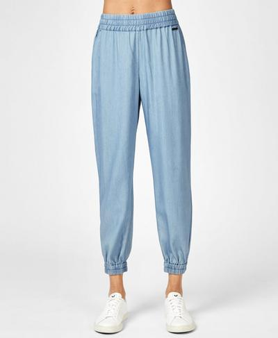 Twilight 7/8 Pants, Denim | Sweaty Betty