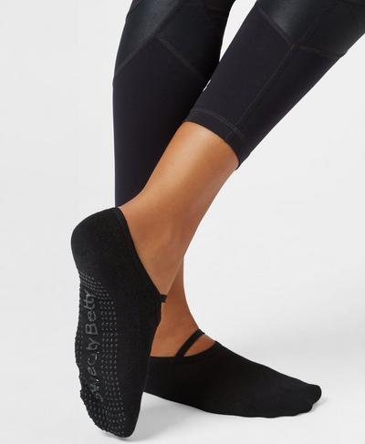 Pilates Socks, Black | Sweaty Betty