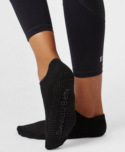 Barre Gripper Socks, Black | Sweaty Betty