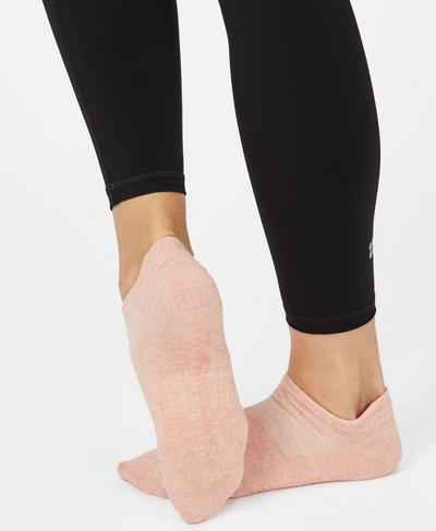 Barre Gripper Socks, Liberated Pink | Sweaty Betty