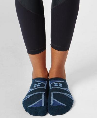 Trainer Liners, Beetle Blue Union Jack | Sweaty Betty
