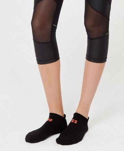 Sneaker Liners, Black | Sweaty Betty