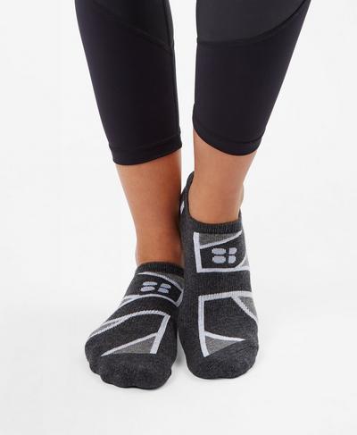 Sneaker Liners, Tonal Union Jack | Sweaty Betty