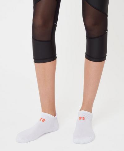 Sneaker Liners, White | Sweaty Betty