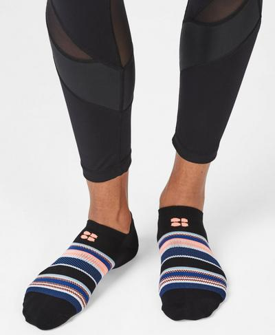 Lightweight Sneaker Liners, Dreamscape Jacquard | Sweaty Betty