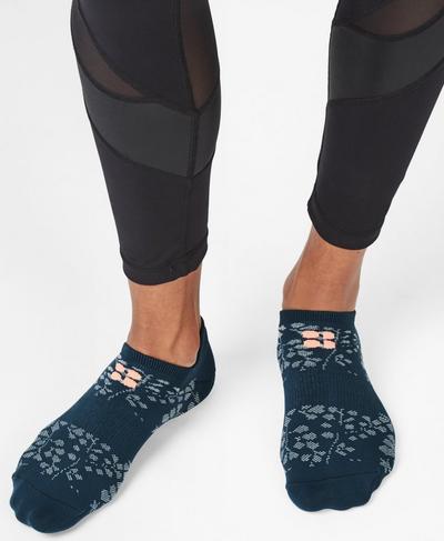 Lightweight Sneaker Liners, Stargazer Wild Garden Print | Sweaty Betty