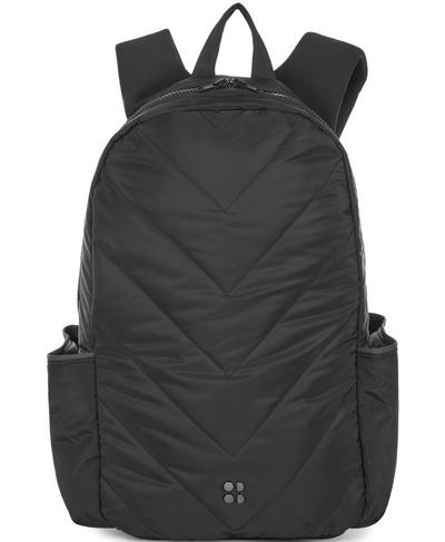 Luxe Run Backpack, Black | Sweaty Betty