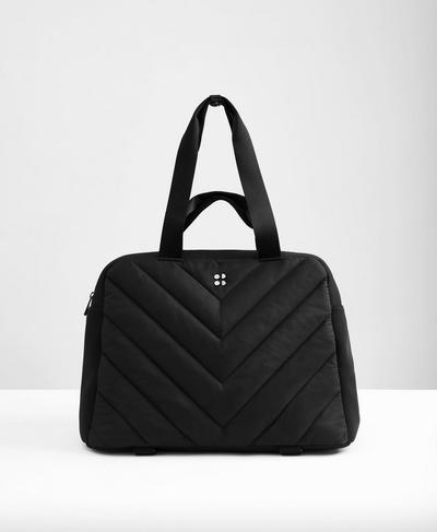 Icon Luxe Kit Bag, Black A | Sweaty Betty