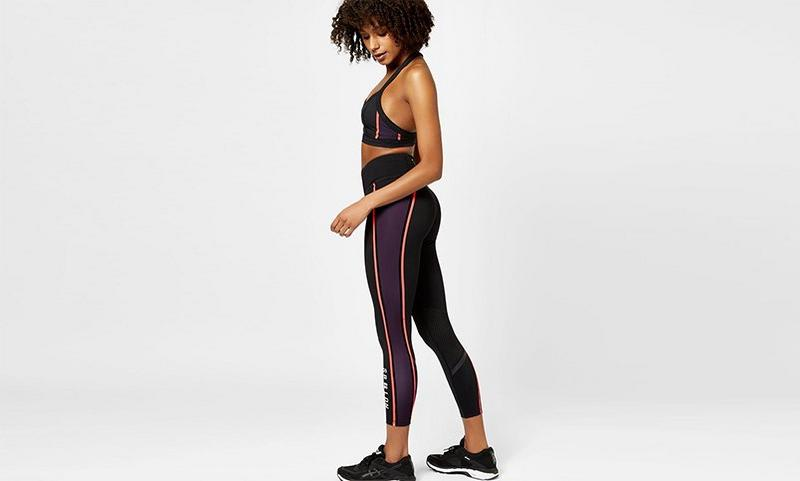 Zero Gravity 7/8 Run Leggings, Brixton Colour Block | Sweaty Betty
