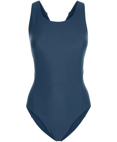 Springboard Swimsuit, Beetle Blue | Sweaty Betty
