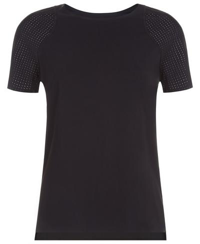 Breeze Short Sleeve Run Tee, Black | Sweaty Betty