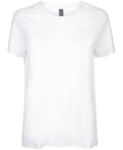 Breeze Short Sleeve Running T-Shirt, White   Sweaty Betty