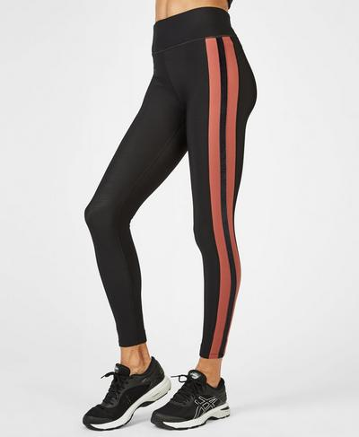Thermodynamic Thermal Running Leggings, RUST | Sweaty Betty