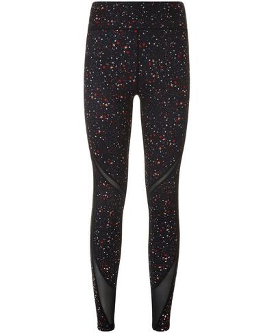 Reversible Mesh Yoga Leggings, Multi Ditsy Star | Sweaty Betty