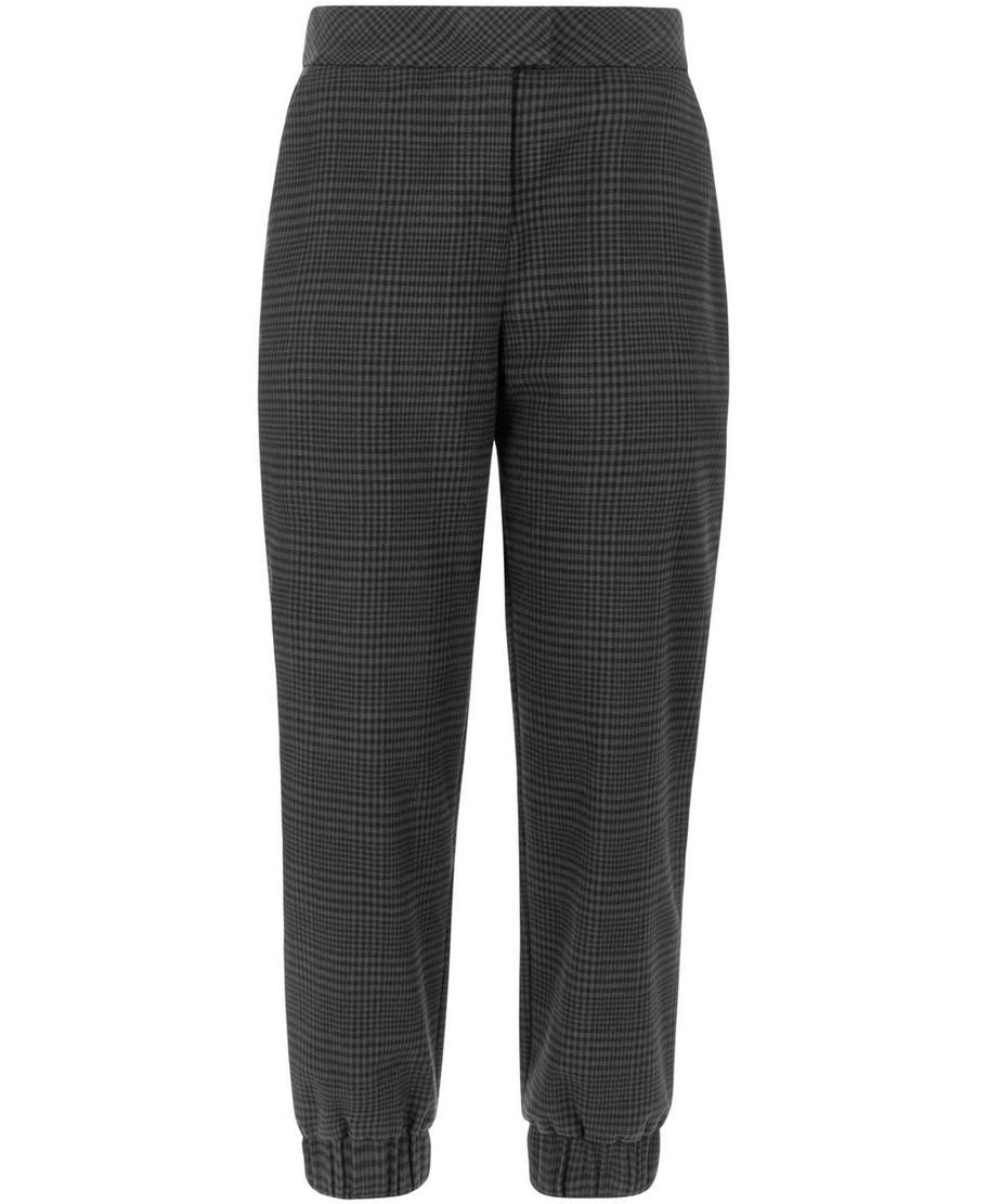 Black Cuffed Pants